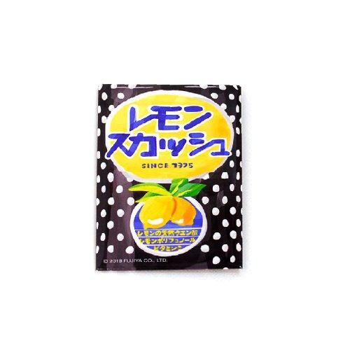 レモンスカッシュ スクエア缶バッジ(不二家飲料雑貨)PK