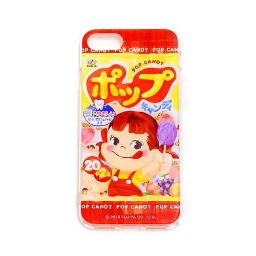 ペコちゃん POPキャンディ iPhoneケース(不二家お菓子雑貨)  PK