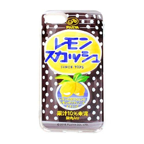 レモンスカッシュ iPhoneケース (不二家飲料雑貨) PK