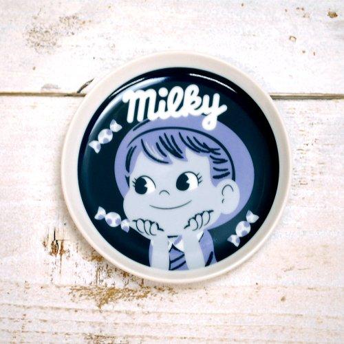 ポコちゃん 【生産終了品】milky POKO スモールプレート(不二家お菓子雑貨) YT-012 PK