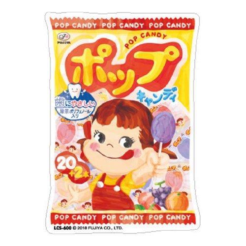 ペコちゃん ダイカットビニールステッカー 大(ポップキャンディー袋) LCS-600 (不二家お菓子雑貨) PK