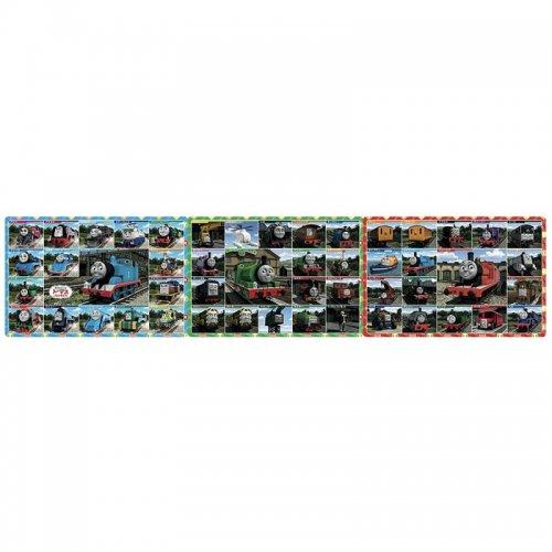 きかんしゃトーマス 【18+24+32ピース】ステップパノラマパズル「トーマスずかん」 24-114