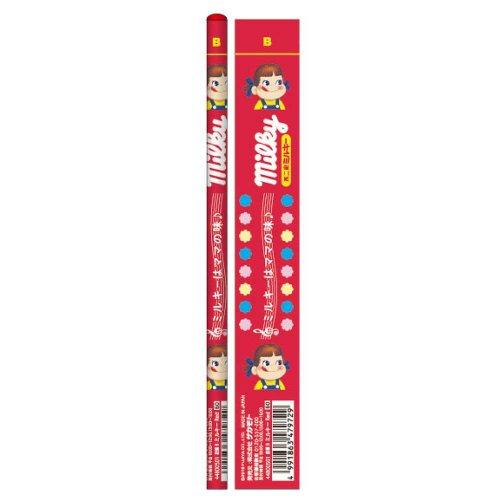 おやつ鉛筆B 5本セット(ミルキーレッド) 44800501 PK