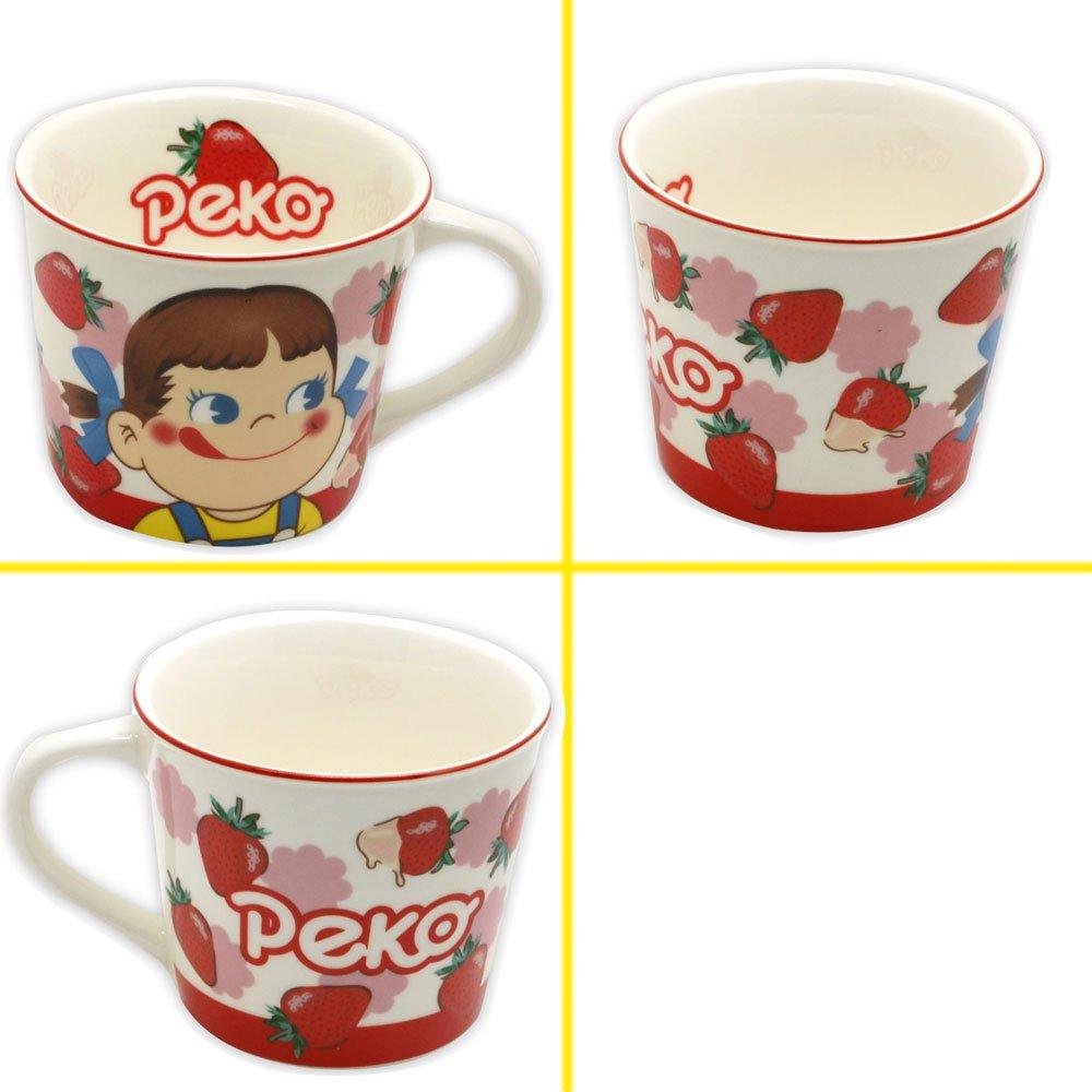キャラコ マグカップ(いちご/アップ) PE-5524402UP PK