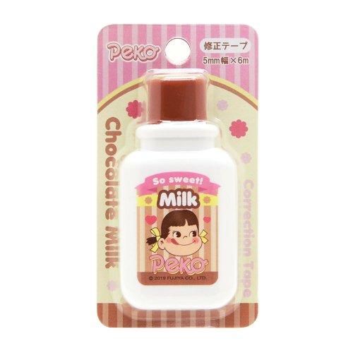 ミルク瓶型修正テープ(チョコミルク) PE-5523623CM PK