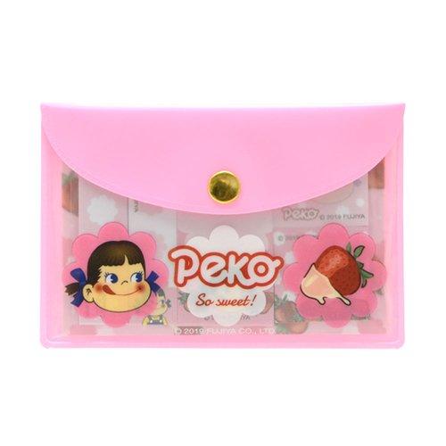 ポーチ入り付箋(いちご/ピンク) PE-5523615PK PK