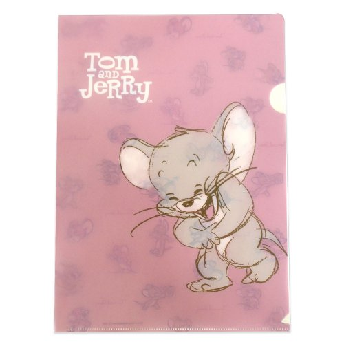 トムとジェリー A4ファイル(PINK) D02718