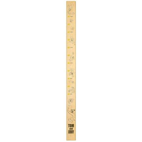 トムとジェリー 【お取り寄せ】木製身長計(ナチュラル)