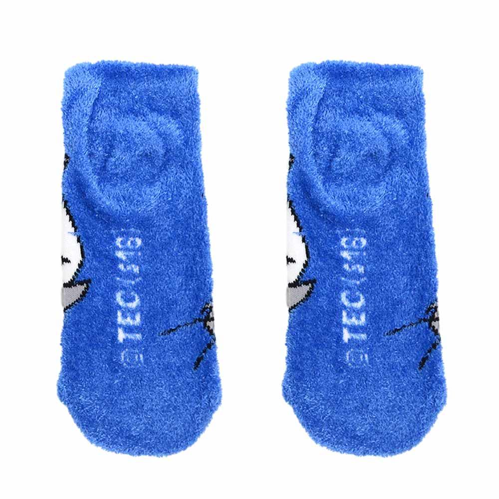 キャラコ トムとジェリー もっこもこ靴下(トムドット) WBJR575J