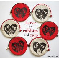 <img class='new_mark_img1' src='https://img.shop-pro.jp/img/new/icons14.gif' style='border:none;display:inline;margin:0px;padding:0px;width:auto;' />Love for rabbits and cats pouch