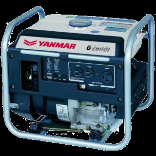 ヤンマー<br>2.5KVAインバーター発電機