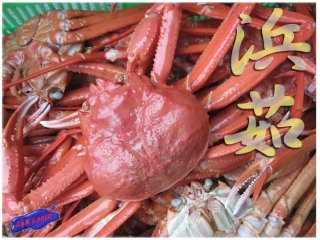 名人の「浜茹で蟹」2Lサイズ-5尾入り