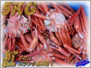 名人の「浜茹で蟹」無選別5kg