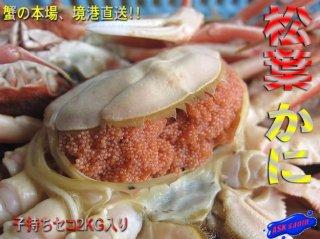 名人の浜茹で「セコ蟹1kg」7尾入り/冷凍品