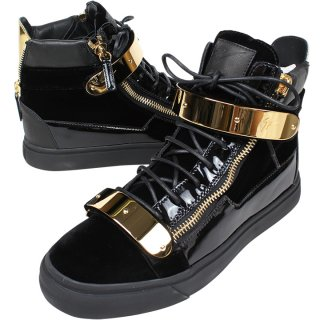 """<img class='new_mark_img1' src='https://img.shop-pro.jp/img/new/icons20.gif' style='border:none;display:inline;margin:0px;padding:0px;width:auto;' />GIUSEPPE ZANOTTI """"PATENT LEATHER HIGH TOP"""""""