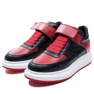 """<img class='new_mark_img1' src='https://img.shop-pro.jp/img/new/icons20.gif' style='border:none;display:inline;margin:0px;padding:0px;width:auto;' />ALEXANDER McQUEEN """"HIGH TOP OVERSIZED SNEAKER"""""""