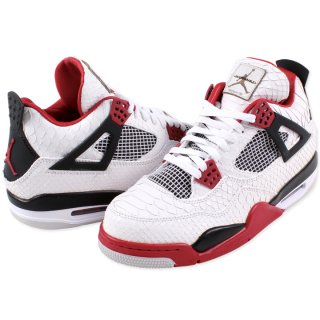 NIKE  AIR JORDAN 4 RETRO FIRERED 【JBF CUSTOMS】
