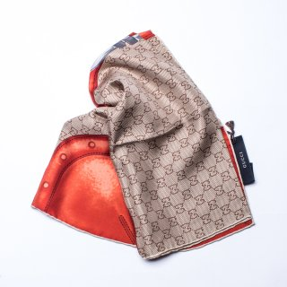 <img class='new_mark_img1' src='https://img.shop-pro.jp/img/new/icons20.gif' style='border:none;display:inline;margin:0px;padding:0px;width:auto;' />GUCCI SCARF