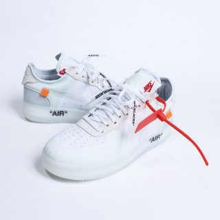NIKE THE TEN AIR FORCE 1 LOW x OFF-WHITE AO4606-100