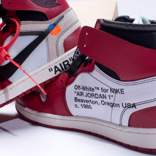 NIKE THE TEN Air Jordan 1 Retro High OG x OFF-WHITE AA3834-101