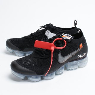 OFF-WHITE × NIKE AIR VAPORMAX FLYKNIT  BLACK