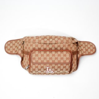 GUCCI LA ANGELES PATCH BELT BAG