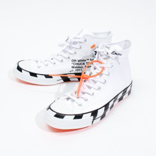 OFF-WHITE × CONVERSE CONVERSE CHUCK 70 ALL STAR WHITE-BLACK