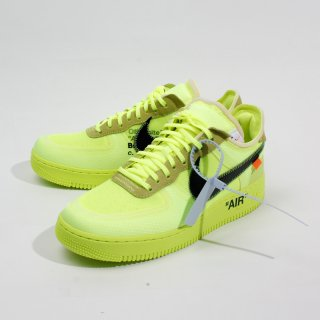 OFF-WHITE X NIKE<br>AIR FORCE 1 VOLT AO4606 700