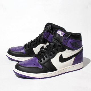 NIKE AIR JORDAN1<br>RETRO HIGH  COURT PURPLE<br>555088-501
