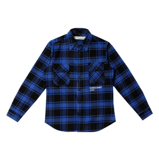 OFF-WHITE<br>QUOTE FLANNEL SHIRTS