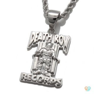 DEATH ROW RECORDS × AVALANCHE<br>SILVER PLATE PENDANT