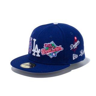 59FIFTY<br>ロサンゼルス・ドジャース <br>MLB ロゴ オールオーバー