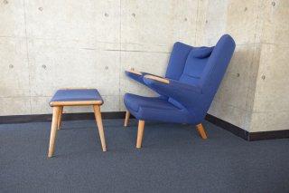 AP 69 New Papa Bear Chair(ニューパパベアチェア)& オットマン by ハンス・ウェグナー AP-Stolen