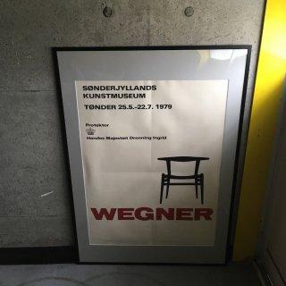 Hans J. Wegner 1979年 展覧会用 ポスター