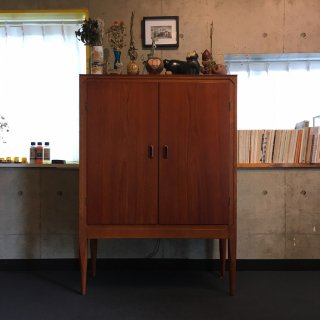 Danish Teak x Oak『 Tall Cabinet 』
