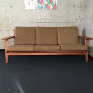 Three seater sofa『 GE-290 Teak 』by Hans J. Wegner for GETAMA