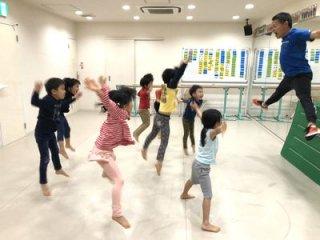 園児のための体操&体育教室 土曜10時・16時ほか ※チケット制