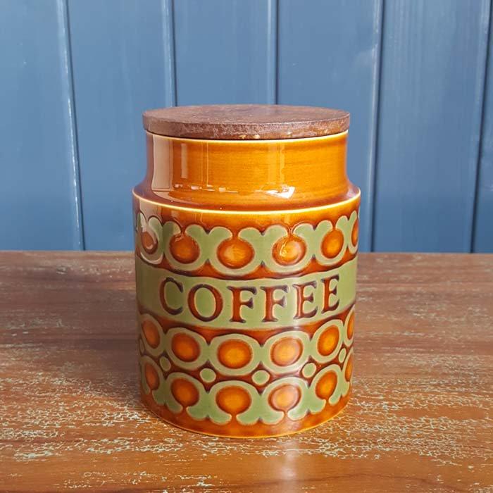 HORNSEA(ホーンジー)「ブロンテ」シリーズ COFFEEキャニスター メインイメージ