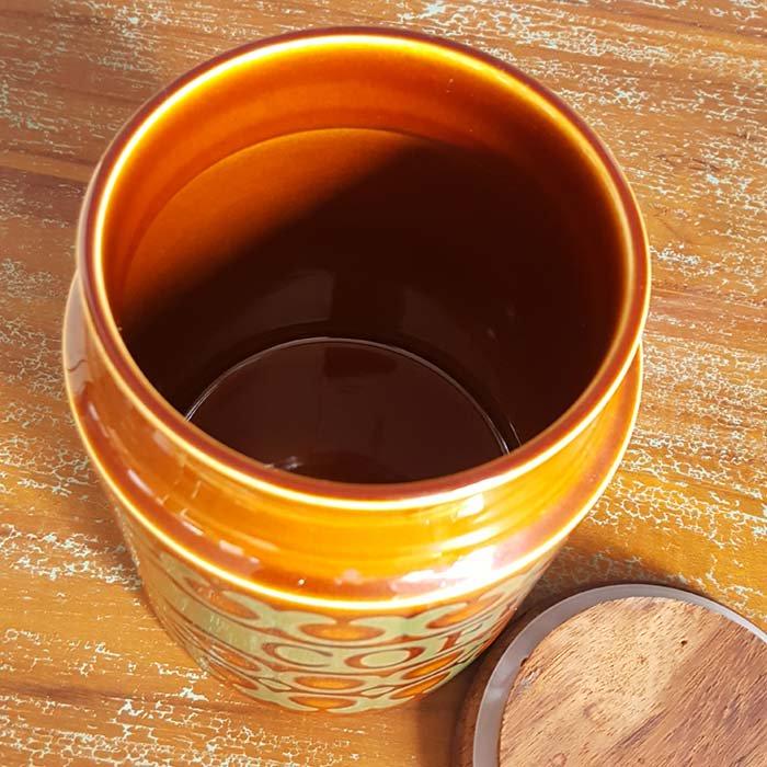 HORNSEA(ホーンジー)「ブロンテ」シリーズ COFFEEキャニスター サブイメージ