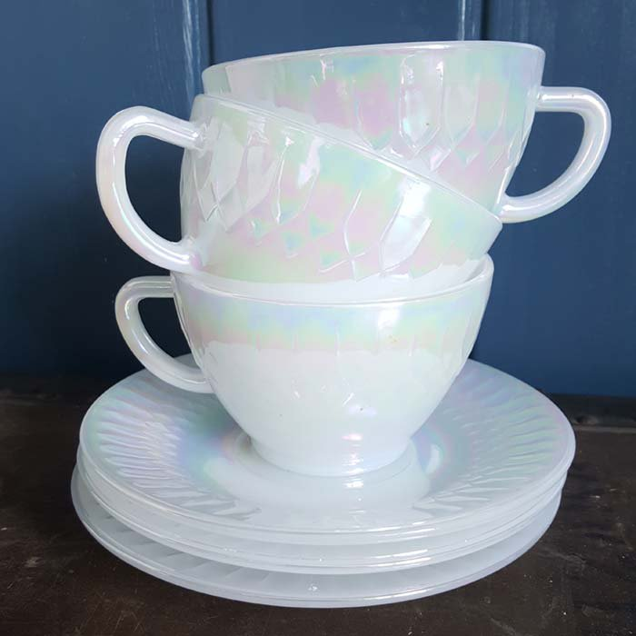 オーロラカップ&ソーサー(耐熱ガラス) サブイメージ