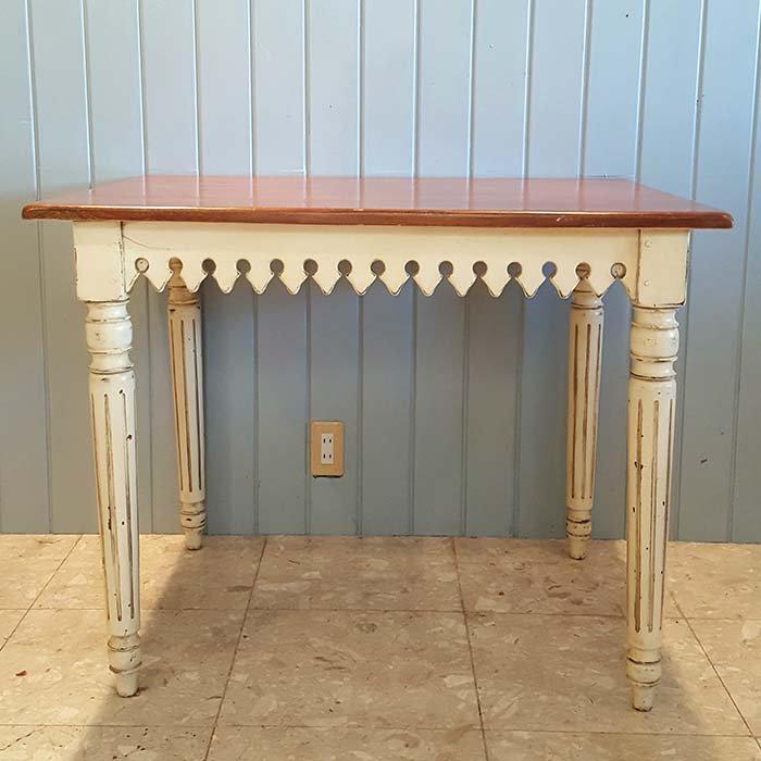 木製アンティーク風・ダイニングテーブル メインイメージ