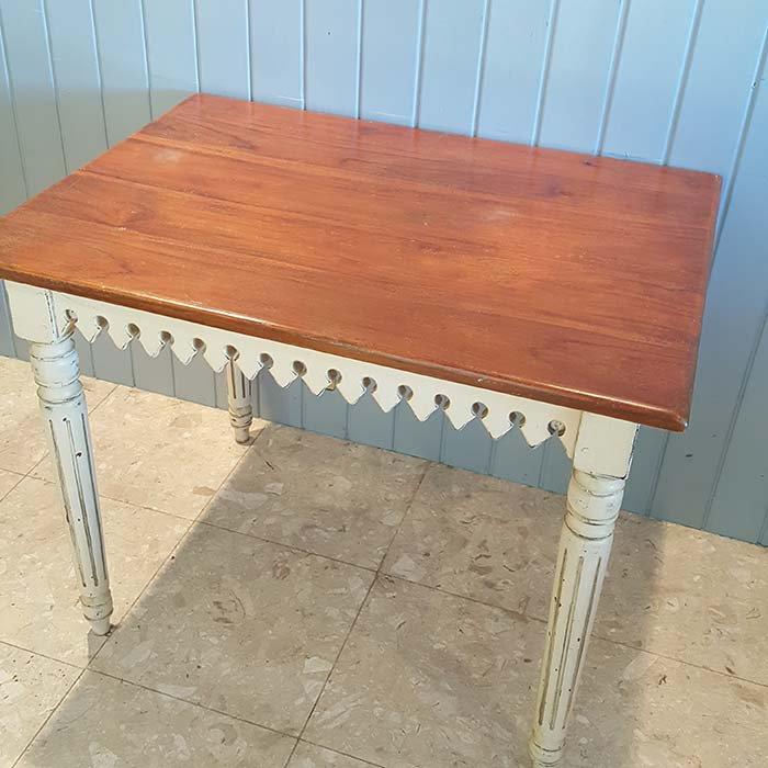木製アンティーク風・ダイニングテーブル サブイメージ