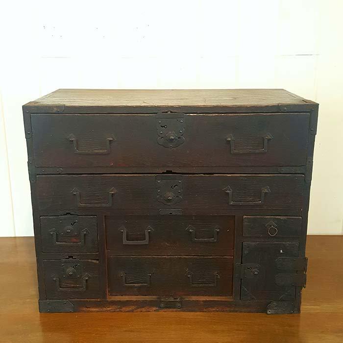 昭和レトロ・小引き出し・木箱 メインイメージ