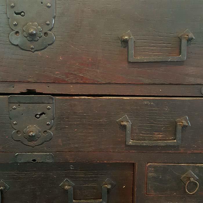 昭和レトロ・小引き出し・木箱 サブイメージ