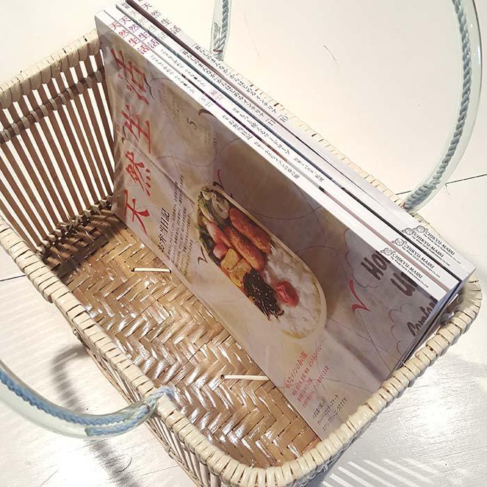 台湾カゴ・持ち手付きカゴ・竹製 サブイメージ