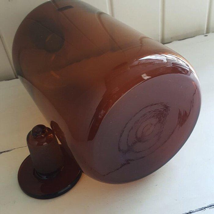 昭和レトロ・レトロガラス・ガラス瓶・大きな薬瓶(ブラウン) サブイメージ