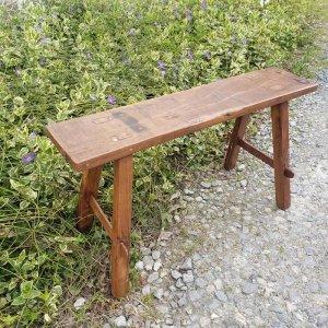 木製ベンチ・チークベンチ・チーク製・インドネシア
