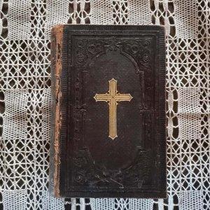 聖書・ドイツ・蚤の市・アンティーク・1896年