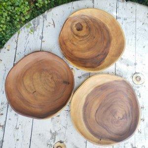 アカシアWOOD・プレート・木製皿(M)