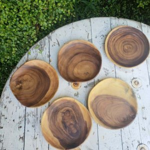 アカシアWOOD・プレート・木製皿(S)